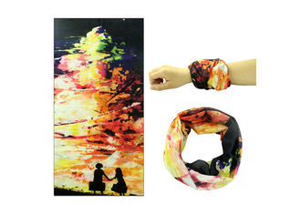 Cina Travel Seamless Connect Buff Hair Wrap, Buff Original Headwear Fleksibilitas Bagus pemasok