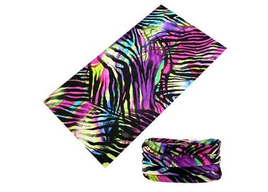 Cina Colorful Lines Gaya Polyester Seamless Original Buff Headwear 25 * 50CM Distributor