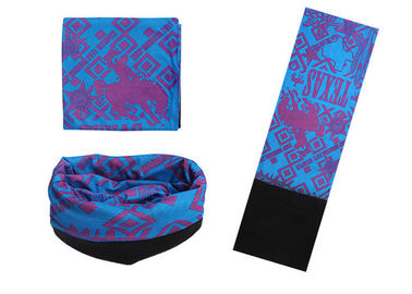 Cina Brilliant Color Buff Mit Fleece, Seamless Connect Ski Buff Headwear Menyerap Keringat Distributor