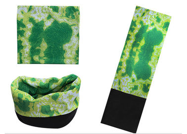 Cina Dekorasi Harian Green Bandana Polar Buff, Seamless Connect Buff Fleece Scarf Distributor
