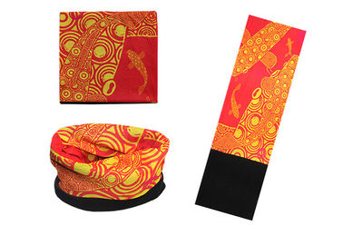 Cina Tenis Orange Buff Polar Neck Warmer, Buff Polar Reversible Buff Wind Resistant Distributor