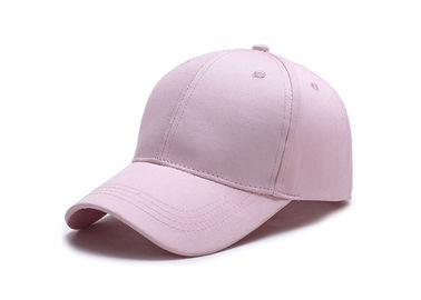 Cina Light Pink Trendy Baseball Caps, Gaya Busana Amerika Jarum Dicuci Canvas Baseball Hat pabrik