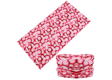 Cina Pink Women Neck Warmer Buff, Fleksibilitas Bagus Buff Original Multifunous Headwear pabrik
